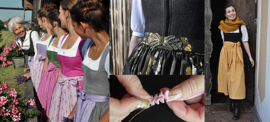 Bei Stefan Barbarino werden auch moderne Trachten noch mir der Hand gefertigt.